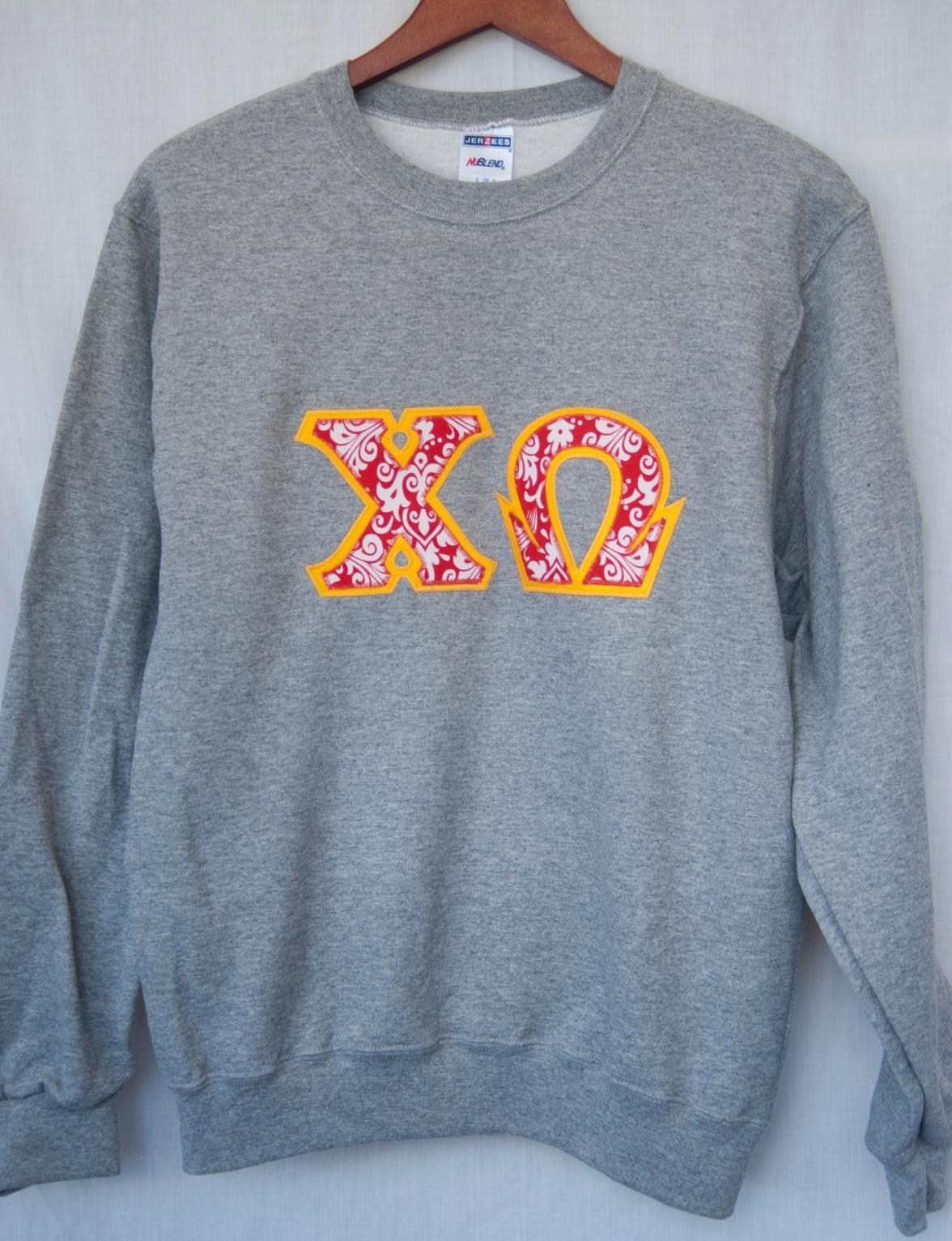 Crew Sweatshirt 8oz - Oxford | http://goo.gl/qyg21Z